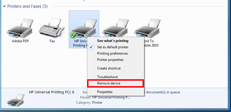 "Sometimes when you try to delete a network printer, you may get a message from Windows saying ""Cannot delete network printer"" and that's it! Great, so now you have useless printers clogging up your printer list. Luckily, there is a way to remove any network printer from your computer via the registry."