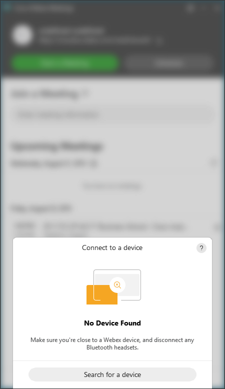 Connect to device
